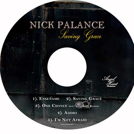 Nick Palance - Saving Grace Label